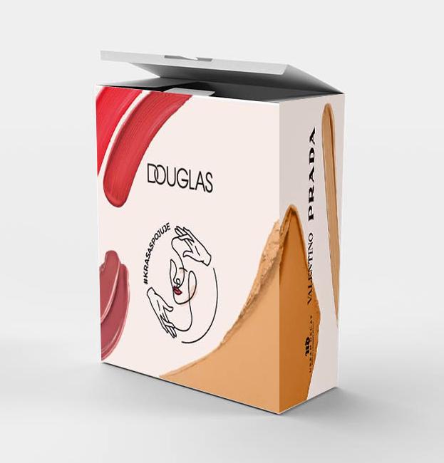 Secret Box (mix dárků od značek: Kiehls, Lancome, Biotherm, YSL, Giorgio Armani, Urban Decay, Valentino, Prada)